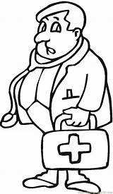 Doctor Coloring Pages Printable Coloringpages101 sketch template