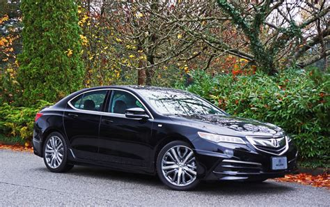 acura tlx sh awd tech  spec road test review