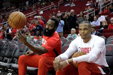 Rockets Notes: Harden, Westbrook, Draft | Hoops Rumors