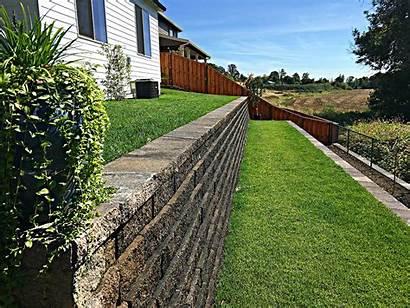 Retaining Decorative Wall Walls Seating Construction Land