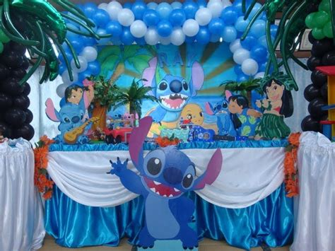 kidocura festas  buffet lilo  stitch  realizada