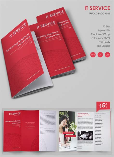 Free Templates For Brochure Design by 20 Best Free And Premium Corporate Brochure Templates