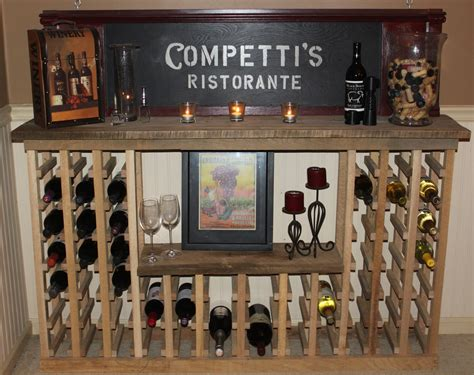 how to build a wine cabinet building a classic wine rack from pallets and reclaimed