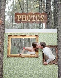 Cadre Photo Mariage : photobooth cadre photobooth 20 id es d co pour prendre la pose avec ou sans les mari s elle ~ Teatrodelosmanantiales.com Idées de Décoration