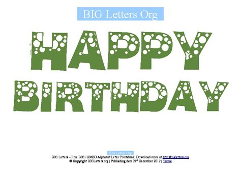 traceable letter templates for banners happy birthday alphabet letters printable bigletters happy