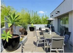 Terrasse et jardin paris ouest inspiracion para el for Plan de maison moderne 19 fiorellino paysagiste realisation et album photos