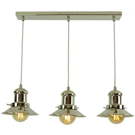 3 light pendant light small edison 3 light pendant polished nickel c w lb3 bulbs