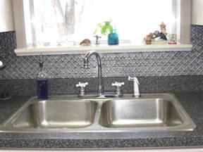 kitchen wallpaper backsplash faux tin backsplash