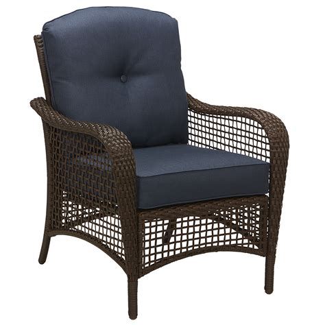 grand harbor prairie hill stationary chair blue outdoor