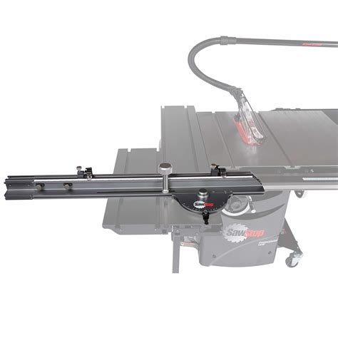 sawstop industrial table saw sawstop tsa sa48 48 inch industrial sliding crosscut table
