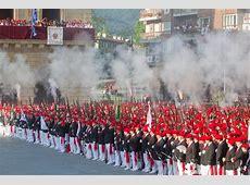 Los alardes tradicional y mixto de las fiestas de Irún