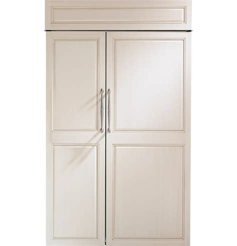 ge monogram  built  side  side refrigerator zisnx ge appliances