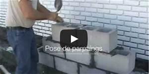 Comment Monter Un Mur En Parpaing : videos mur parpaings tutoriels et illustration de ~ Dailycaller-alerts.com Idées de Décoration