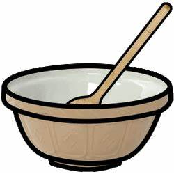 mixing bowl clip art