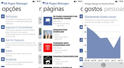 review aplicativo fb pages manager windows team