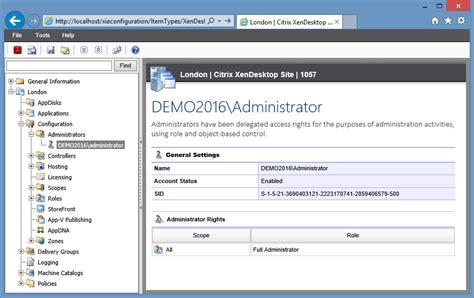 citrix xendesktop site reporting documentation tool