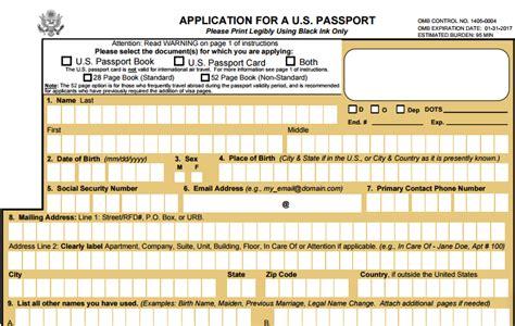 application post it bureau the definitive u s passport application guide for