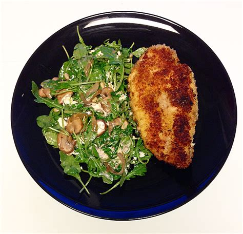 Made with melted provolone, arugula and a spicy chipotle mayonnaise. Not Your Everyday Salad: Warm Mushroom Arugula Salad with Panko Fried Chicken   Panko fried ...