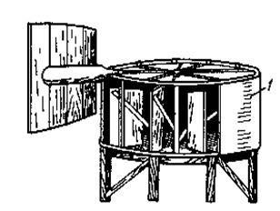 Ветроэнергетика . роторные ветродвигатели системы Савониуса