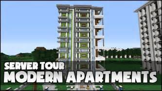 minecraft modern apartment complex youtube