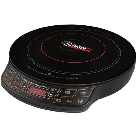 nuwave cooktop reviews nuwave induction cooktop with 9 in ceramic frying pan