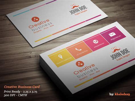 Creative Business Card By Khaledzz9 On Deviantart