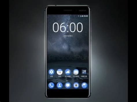 look at nokia 6 official android