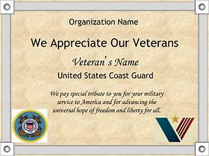 8 best images of veterans day certificates printable veterans certificates free printable With veterans day certificate