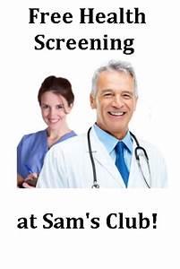 Sam's Club Free Health Screening - Snag Free Samples