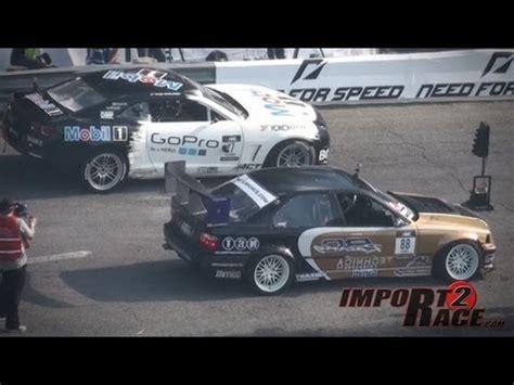 formula 4 crash drift crash bmw m3 vs chevy camaro ss formula d round 4