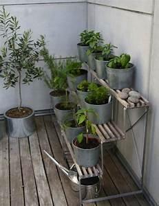 ideen balkon pflanzen stander terrassiert krauter gemuse With balkon ideen pinterest