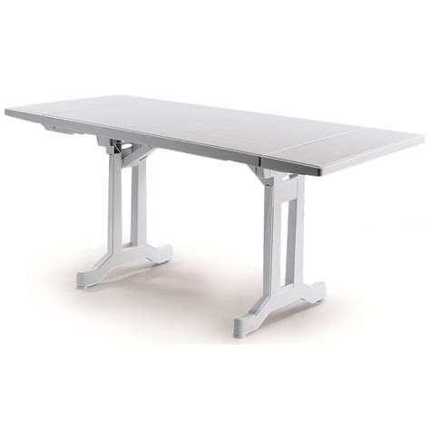 best table jardin resine blanc contemporary awesome interior home satellite delight us