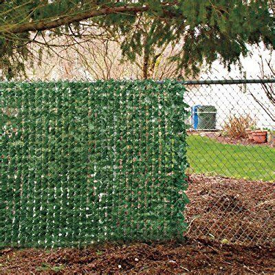 amazoncom faux ivy privacy screen outdoor decorative