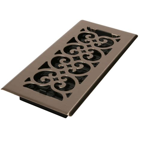 Metal Floor Registers Home Depot by Modern Homes Egg Crate 3 In X 10 In Steel Floor Register