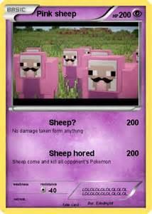 Pink Sheep Pokemon Card