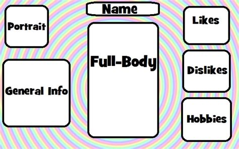 chibi template coloured manga chibi information form template 1 by joaqcreator on