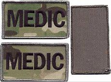 MultiCam Medic Placard
