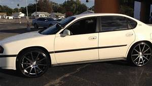 2005 Chevy Impala 22 U0026quot Rosso G140 Wrapped In 235  30