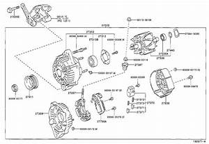 2004 Toyota Tacoma Bolt For Alternator   Engine