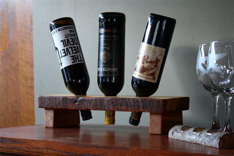 Rustic Wine Rack- Display Stand