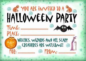 Halloween party invitation rooftop post printables for Halloween invitation free