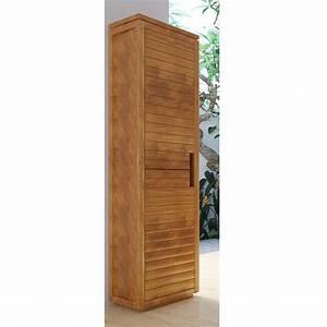 meuble rangement salle de bain alinea With meuble de salle a manger avec armoire en teck