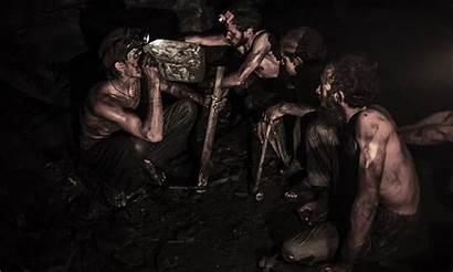 Coal Miners Mining Miner Mine Dawn Punjab