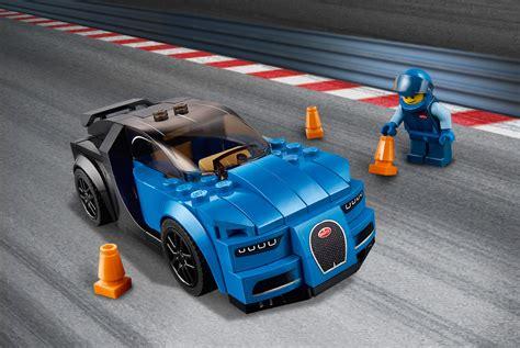 Includes a racing driver minifigure. LEGO SPEED CHAMPIONS 75878 Bugatti Chiron - 7155141822 - oficjalne archiwum allegro