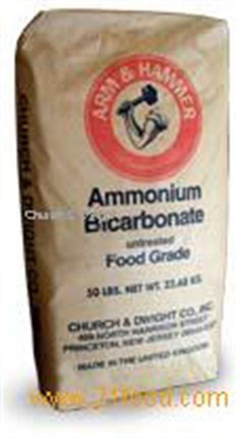 bicarbonate d ammonium cuisine ammonium bicarbonate products united states ammonium