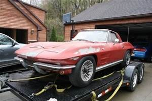 1964 Corvette Sting Ray Convertible Project