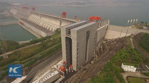 Yangtze Boat Lift by Exclusive Aerial View World S Largest Shiplift At China S