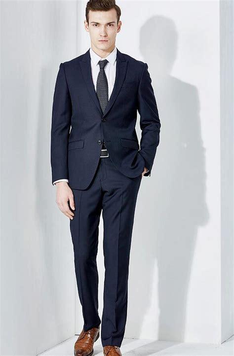 men039s business suit fashion blue suit hardon clothes