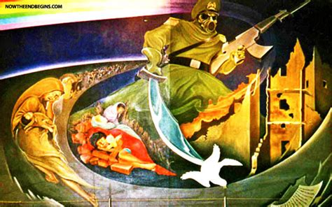 Denver International Airport Murals New World Order by Fil A Banned From Opening New Restaurant In Denver