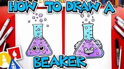 Science Draw Beaker Hub Learn Funny Supplies